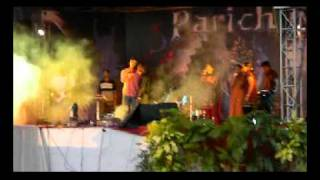 Indian songs ROCK fusion in Parichay 2010 - RNSIT, Bangalore (Unofficial footage)