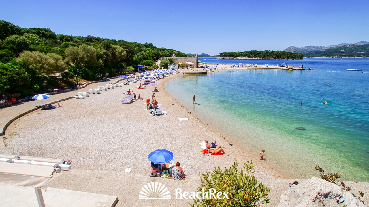 Beach Copacabana Dubrovnik Croatia