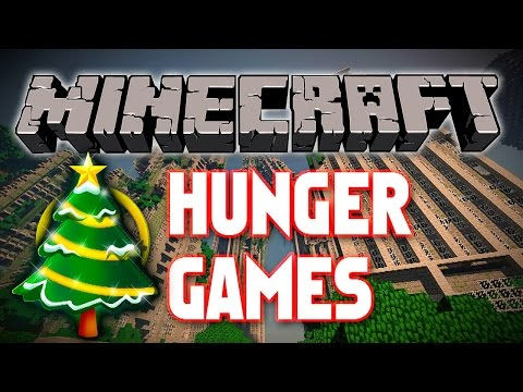 """Minecraft Hunger Games #343 """"SG4 CHRISTMAS!"""" with Vikkstar"""