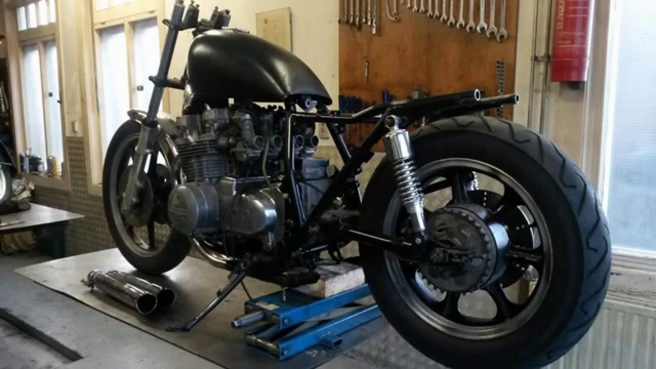 1981 Kawasaki 750 Ltd Custom Rebuild  Part 3