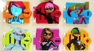 Find Volpina Miraculous Ladybug Villains Trapped Doors Surprises