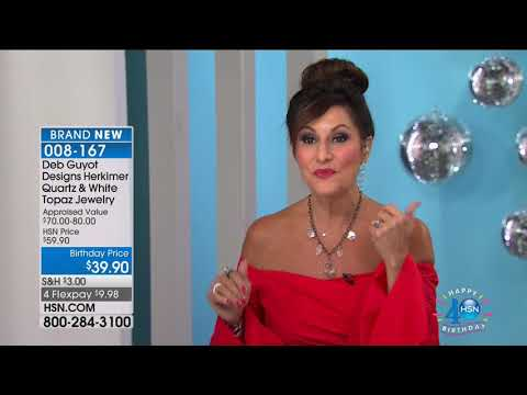 HSN | Designer Gallery with Colleen Lopez Jewelry Celebration 07.14.2017 - 08 PM - Duur: 1:00:01.