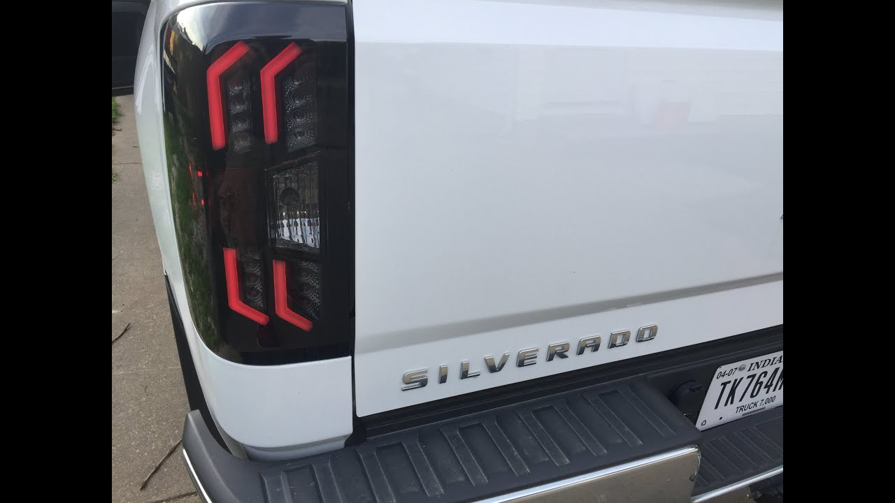 Winjet LED Smoked Taillights for the 2014-2015 Chevrolet ...