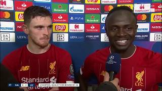 """I don't know how Salah scored from there!"" Andy Robertson is all of us!"