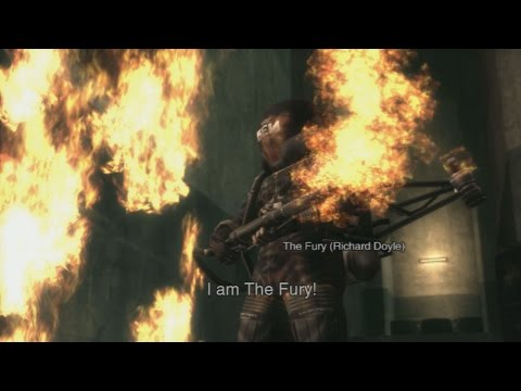 Metal Gear Solid 3 The Fury battle (European extreme and CQC Only)