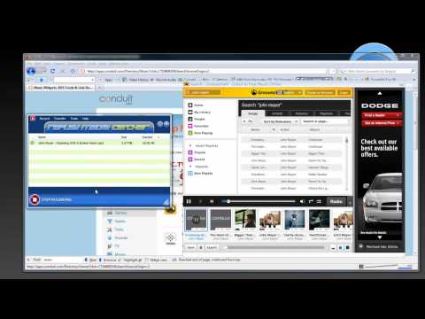 Downloading Capturing Recording Grooveshark with Replay Music and Replay Media Catcher