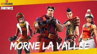 FORTNITE-SAUVER THE WORLD - DEFENSE BASE MORNE THE VALLEY PS4 720P Fr