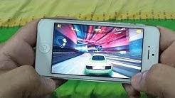 IPHONE 5 ASPHALT 8 GAMEPLAY