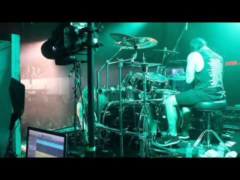 Suicide Silence: Cease To Exist (Drum Cam)