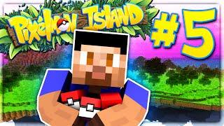 PIXELMON ISLAND SMP #5 (Pokemon Go Minecraft Mod)