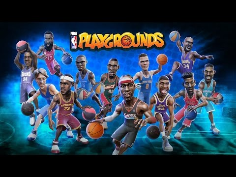 CLYDE DREXLER AND KARL MALONE ARE TOO GOOD!   NBA PLAYGROUNDS EP1