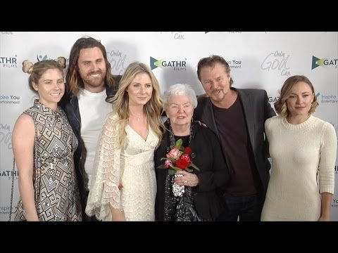 "Greg Evigan and Family ""Only God Can"" World Premiere Red Carpet"