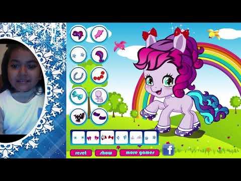 Customise My Little Pony APPLEJACK,RAINBOW DASH,PINKIE PIE Games| MLP GAMES DISNEY FOR KIDS