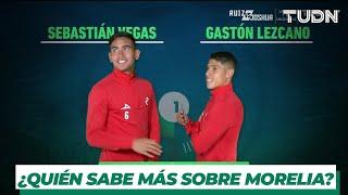 """Sebastián Vegas y Gastón Lezcano se divirtieron en """"Contra Tiempo""""   TUDN"""