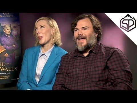 Кейт Бланшетт и Джек Блэк отвечают на рандомные забавные вопросы