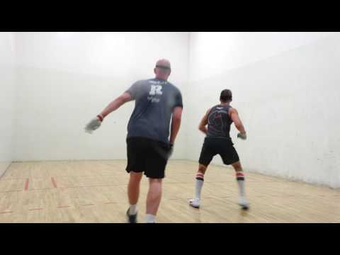 Jake Plummer Family Handball Bash & R48Pro Stop - Sean Lenning vs David Fink - Semis