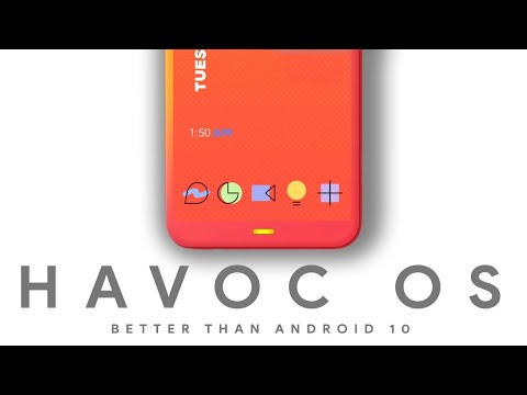 Havoc OS - Better Than Android 10 - Full Of Customisation