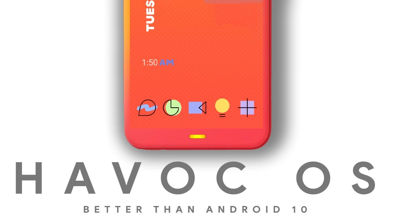 Havoc OS - Better Than Android 11 - Full of Customisation - YouTube