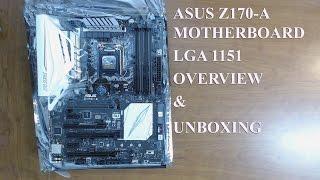 asus z170 a motherboard socket lga 1151