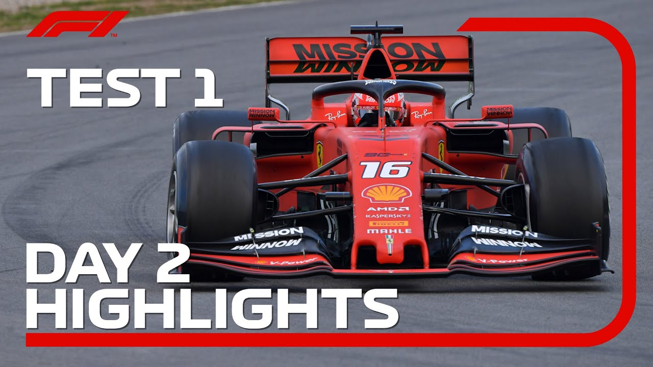 Download Day 2 Highlights   F1 Testing 2019