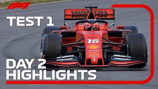 Day 2 Highlights | F1 Testing 2019
