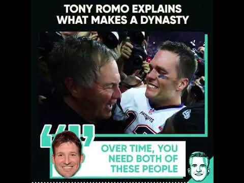 Tony Romo On What Makes A Team A Dynasty