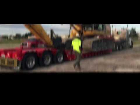 Globe Trailers:Floridian 55 Ton Lowboy