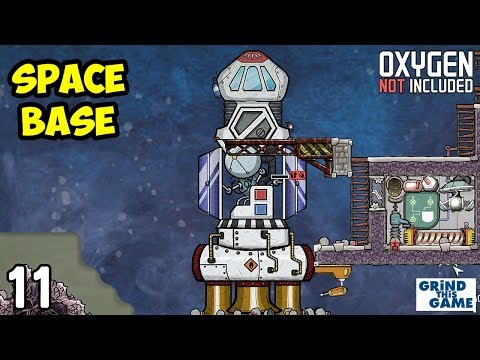 SPACE INDUSTRY BASE #11 - Solar Power & Rockets - Oxygen Not Included [4k]