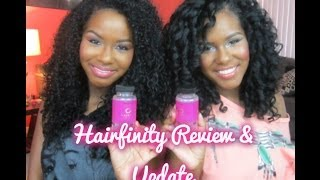 One of glamtwinz334's most viewed videos: Hairfinity Review & Update