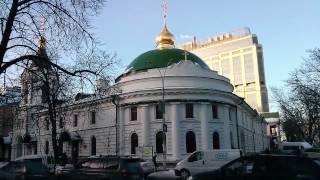 видео Свято-Введенский мужской монастырь Киев