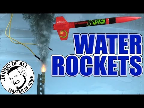 Will Rockets Work Under Water? And Aquaman!
