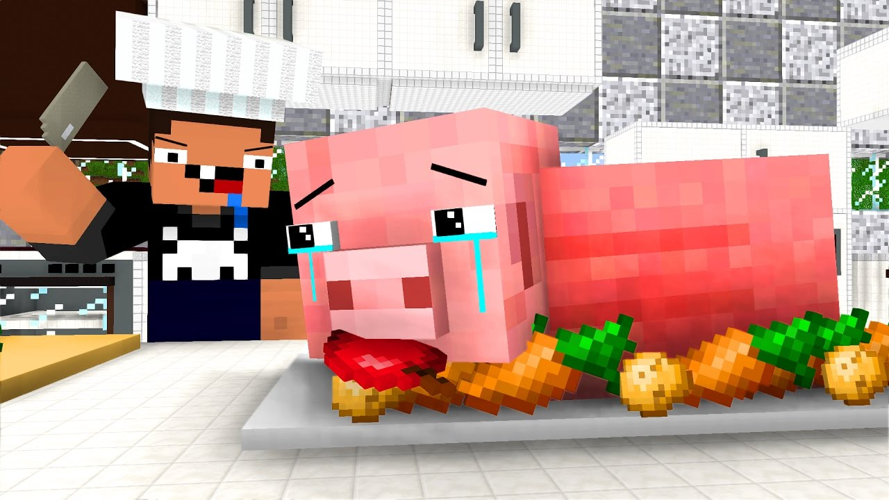 Pig Life 3 Craftronix Minecraft Animation Youtube