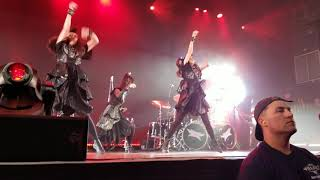 Babymetal playing RoR the last song of the night in #Philadelphia #...