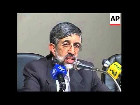 President of Iranian Islamic Assembly meets Cuban FM