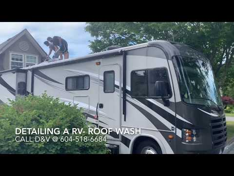 Exterior Detailing of an RV