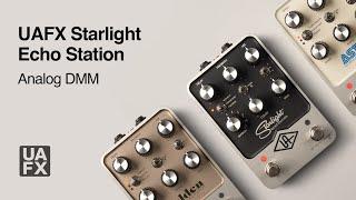 UAFX Starlight Echo Station - Analog DMM Tutorial