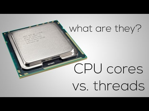 CORES and THREADS Explained (with Performance Tests)