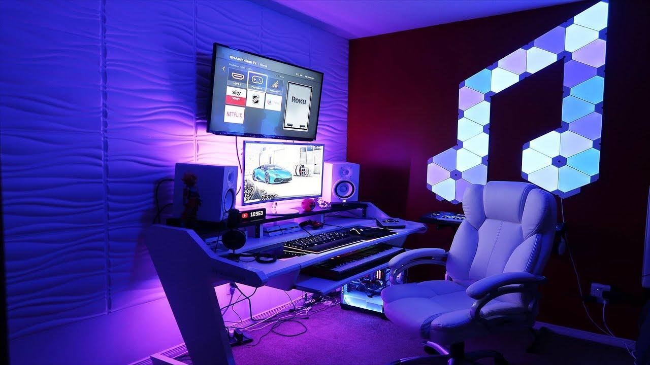 My Insane Dream Home Studio Setup Tour 2019 Blasian Beats
