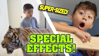 SPECIAL EFFECTS!!! [SUPER SIZE ME WEEK]