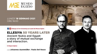 Ancient nubia and egypt share a long history of economic, political cultural contacts. the dialogue between curators paolo del vesco johannes aue...
