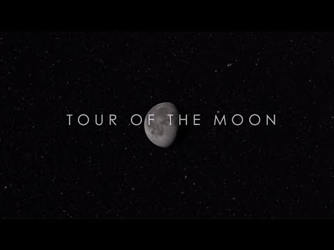 NASA Astronomy Video :  Tour of the Moon - A detailed view of the lunar surface
