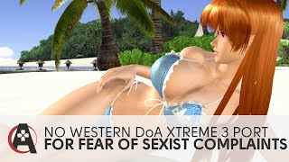 No Western Dead Or Alive Xtreme 3 Port From Fear of Sexism Complaints