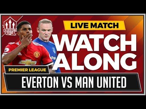Everton vs Manchester United LIVE Stream Watchalong