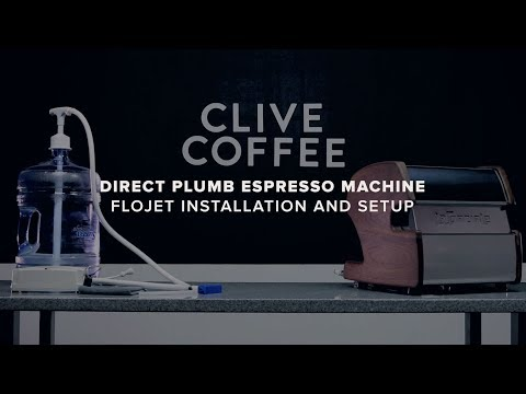 Direct Plumb Espresso Machine | Flojet Installation