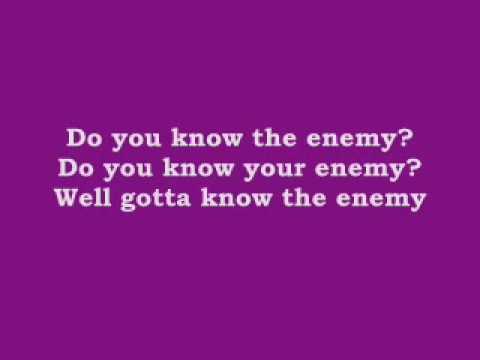 Green Day - Know Your Enemy [karaoke+lyrics].WMV