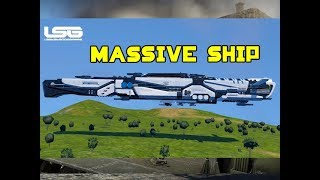 Epic Hades Shadow Modded Battle Cruiser - Space Engineers