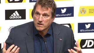 Scotland 3-2 Israel - Andy Herzog Full Post Match Press Conference - UEFA Nations League