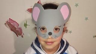 символ 2020 года. Карнавальная маска мышка  из Фома