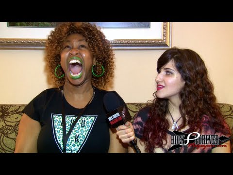 GloZell Interview with Rock Forever Magazine