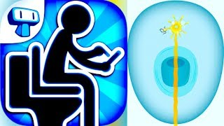 TOILET TIME - Mini Games to Play in the Bathroom!! (iPhone, iPad, iOS, Android Game)